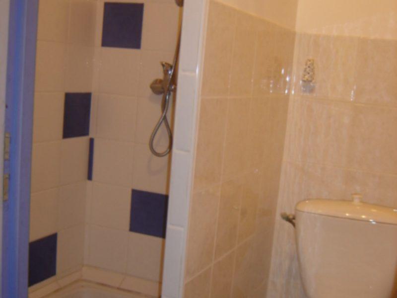 douche + WC orchidée